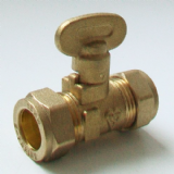15mm Butterfly Lever Gas Isolation Shut Off Valve - 07000760
